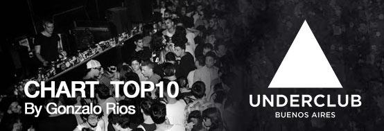 CHART TOP 10 Under Club (Argentina)