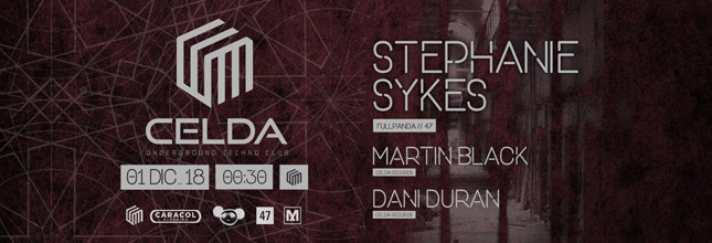 Stephanie Sykes - Celda Techno Club