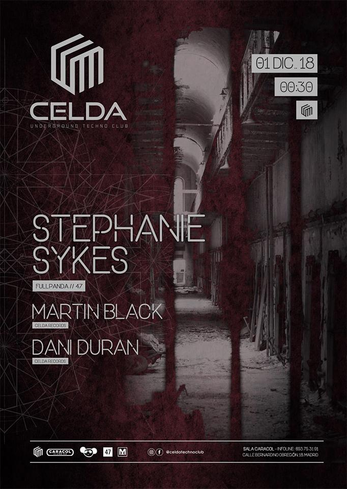 Stephanie Sykes - Celda Techno Club