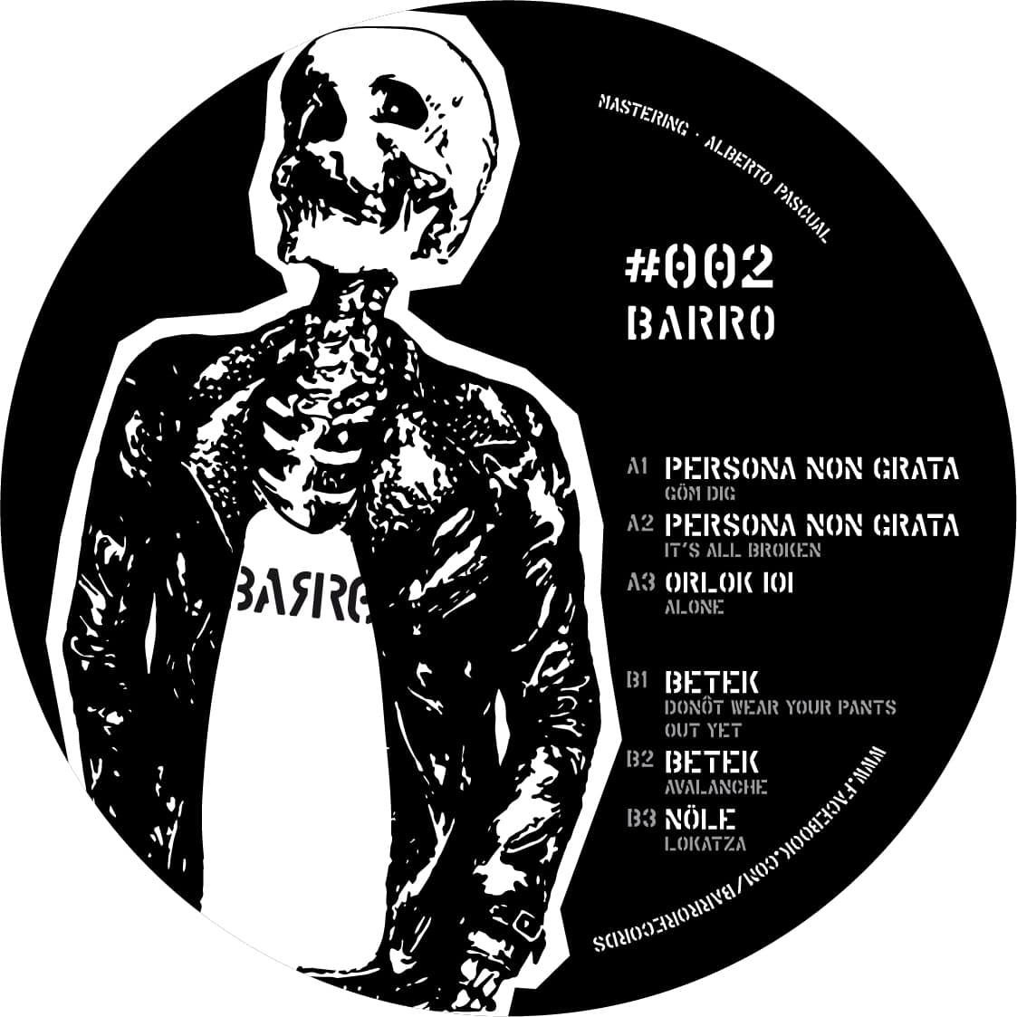 BARRO #002 V/A