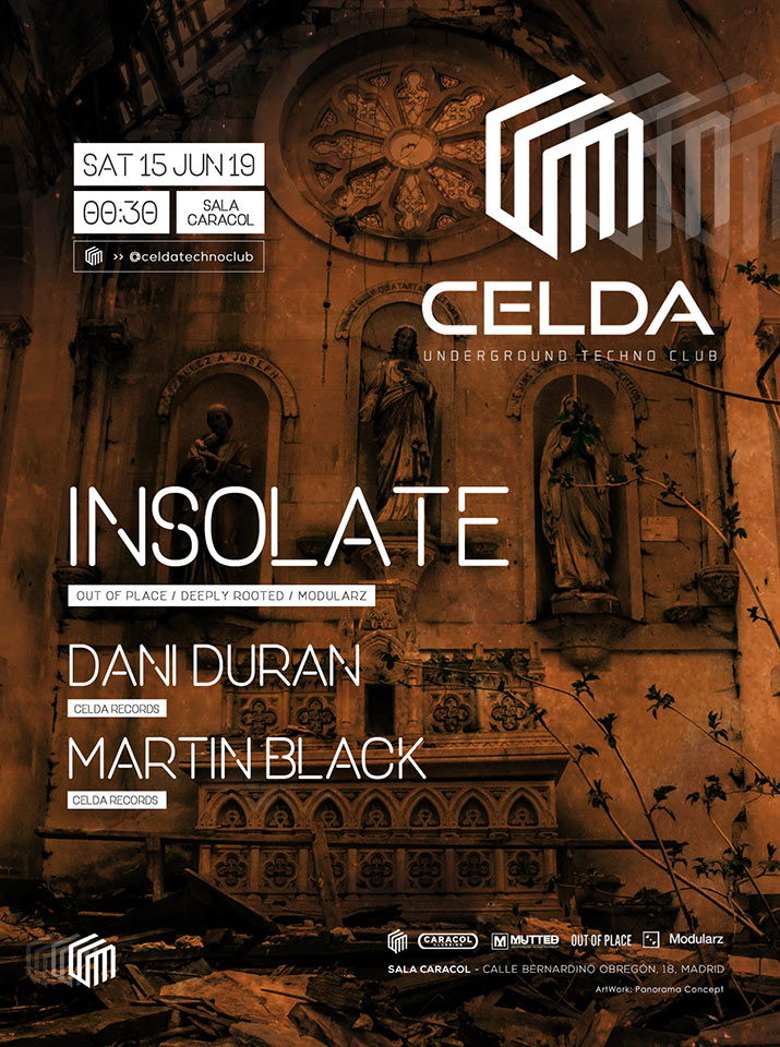 CELDA Techno Club - Insolate