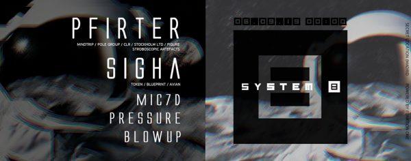 System 8 - Pfilter & Sigha